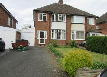 Thumbnail 3 bed semi-detached house to rent in Bonner Drive, Sutton Coldfield