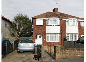 Thumbnail 3 bed semi-detached house for sale in Meadow Road, Worthing