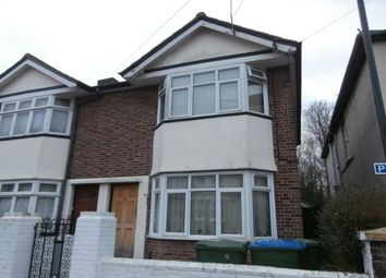 Thumbnail 4 bedroom terraced house to rent in Burlington Road, Southampton