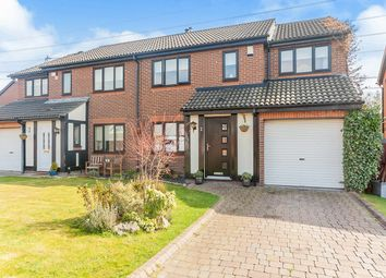 Thumbnail 4 bedroom semi-detached house for sale in Monkridge, North Walbottle, Newcastle Upon Tyne