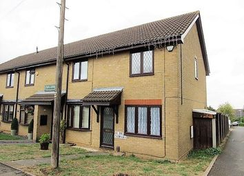 Thumbnail 2 bed end terrace house to rent in The Paddocks, Luton Road, Toddington