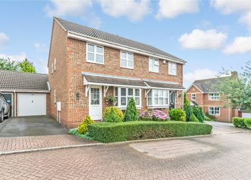 Thumbnail 3 bed semi-detached house for sale in Chequers Court, Strood, Kent