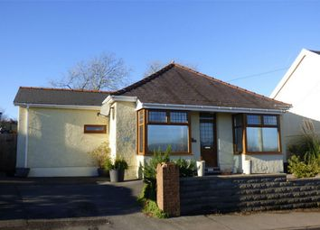 Thumbnail 3 bed detached bungalow for sale in Llwynteg, Five Roads, Llanelli, Carmarthenshire