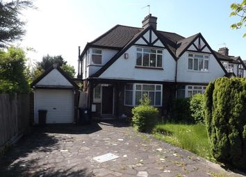 Thumbnail 3 bed semi-detached house for sale in Parkside Drive, Edgware