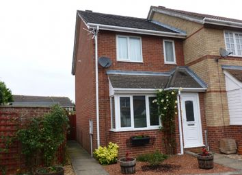 Thumbnail 2 bed terraced house to rent in Meadow Close, Chatteris