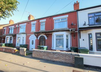 Thumbnail 4 bedroom terraced house for sale in Churchill Avenue, Foleshill, Coventry