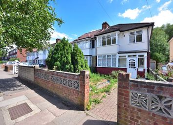 Thumbnail 3 bed end terrace house to rent in Maybank Avenue, Wembley