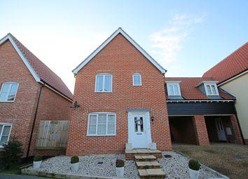 Thumbnail 3 bed link-detached house for sale in Brandon Close, Swanton Morley, Dereham