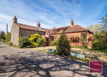 Thumbnail 6 bed farmhouse for sale in The Street, Erpingham