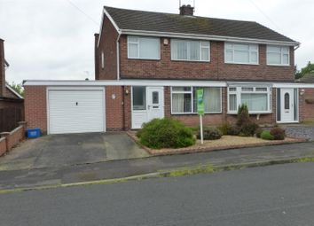 Thumbnail 3 bed semi-detached house for sale in Nursery Close, Hucknall, Nottingham