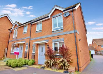 Thumbnail 3 bedroom semi-detached house for sale in Crossbill Close, Costessey, Norwich