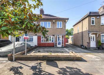 Burnham Avenue, Ickenham, Uxbridge, Middlesex UB10. 3 bed semi-detached house