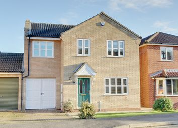 Thumbnail 4 bed link-detached house for sale in The Sycamores, Bluntisham, Cambs