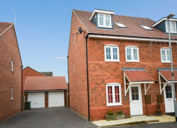 Thumbnail 4 bed semi-detached house for sale in Keel Close, South Wigston, Leicester