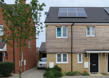 Thumbnail 3 bed end terrace house for sale in School View, Oundle, Peterborough