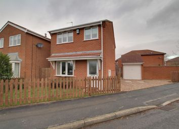 Thumbnail 3 bed detached house for sale in Holbeck Drive, Broughton Astley, Leicester
