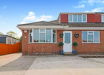 Thumbnail 4 bed semi-detached bungalow for sale in Emfield Road, Scartho Grimsby