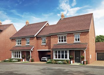 "Thumbnail 4 bed link-detached house for sale in ""Chesham"" at Mercia Road, Biddenham, Bedford"