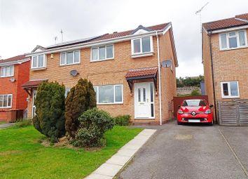 Thumbnail 3 bedroom semi-detached house for sale in Brassington Close, West Hallam, Ilkeston