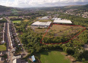 Thumbnail Land for sale in Aberaman Park Industrial Estate, Aberaman