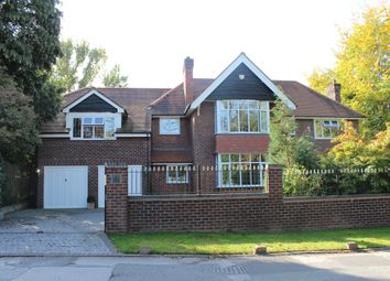 Thumbnail 5 bed detached house to rent in Torkington Road, Wilmslow