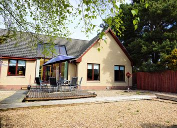 Thumbnail 4 bed detached bungalow for sale in Bracany Park, Elgin