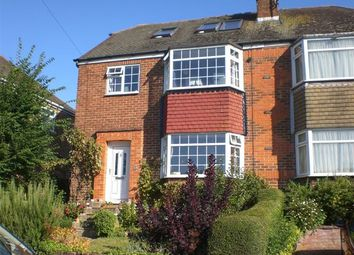 Thumbnail 4 bed semi-detached house to rent in Dale Crescent, Brighton, East Sussex