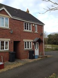 Thumbnail 2 bed end terrace house to rent in Sedgemoor Court, Lang Farm, Daventry