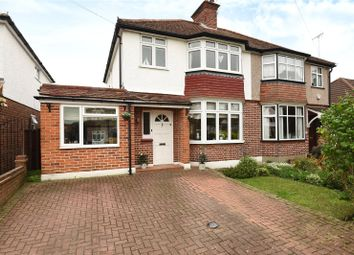 Thumbnail 3 bedroom semi-detached house for sale in Devon Way, Hillingdon, Middlesex