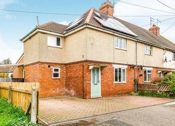 Thumbnail 3 bed end terrace house for sale in Chapel Lane, Stoke Bruerne, Towcester, Northamptonshire