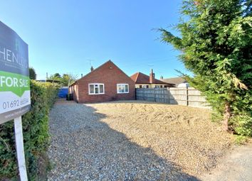 Thumbnail 3 bed detached bungalow for sale in Buxton Road, North Walsham