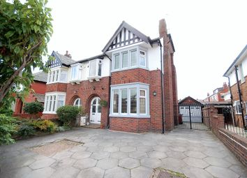 Thumbnail 3 bed semi-detached house for sale in Kingscote Drive, Blackpool