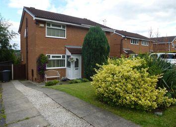 Thumbnail 2 bed semi-detached house to rent in Farnhill Close, Norton, Runcorn