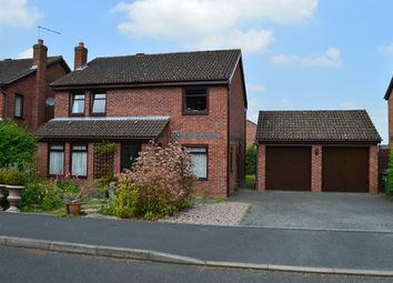 Thumbnail 4 bed detached house for sale in The Paddocks, Market Drayton