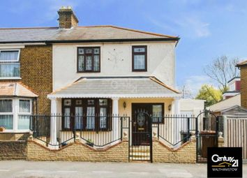 Thumbnail 3 bed end terrace house for sale in Lyne Crescent, London
