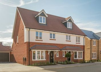 "Thumbnail 4 bed property for sale in ""The Madeley Semi-Detached"" at Cotts Field, Haddenham, Aylesbury"