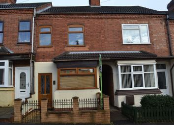Thumbnail 3 bed terraced house to rent in Stanleigh Road, Overseal, Swadlincote