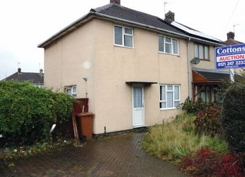 Thumbnail 3 bed semi-detached house for sale in Attlee Road, Walsall, West Midlands