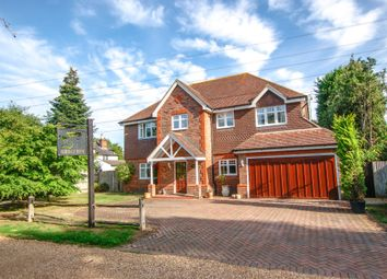 Thumbnail 5 bed detached house for sale in Chequers Lane, Eversley, Hook