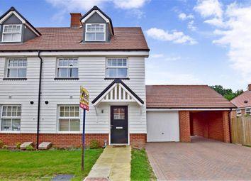 Thumbnail 3 bed semi-detached house for sale in The Bartons, Staplehurst, Kent