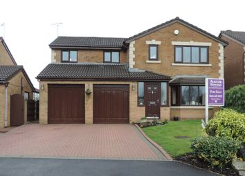 Thumbnail 5 bed detached house for sale in Greencroft Meadow, Royton, Oldham