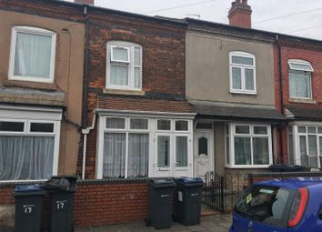 Thumbnail 2 bed terraced house for sale in Coronation Road, Ward End, Birmingham