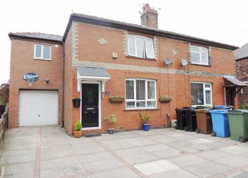 Thumbnail 3 bed semi-detached house for sale in Queens Road, Bredbury, Stockport