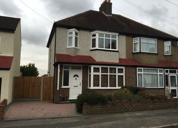 Thumbnail 3 bed semi-detached house to rent in Fromondes Road, Cheam