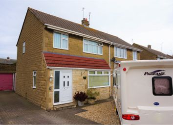 Thumbnail 3 bed semi-detached house for sale in Darwin Close, Swindon