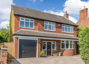 Thumbnail 4 bed detached house for sale in Crewe Road, Alsager, Stoke-On-Trent