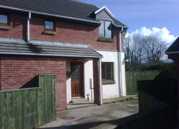Thumbnail 2 bed semi-detached house to rent in Brostinian, Scleddau