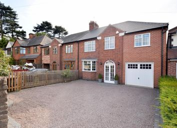 Thumbnail 5 bed semi-detached house for sale in Wood Lane, Quorn, Loughborough