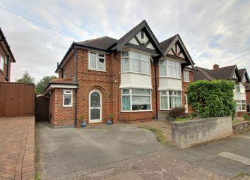 Thumbnail 3 bedroom semi-detached house for sale in Burnside Drive, Bramcote, Nottingham