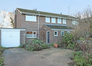 Thumbnail 3 bed semi-detached house for sale in Rosemary Road, Waterbeach, Cambridge
